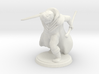 Warrior Wizard 3d printed