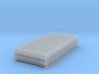 Fence 01. HO scale (1:87) 3d printed set of 24 small garden fences in HO scale (1:87)