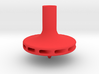 Straw Turbo Spinning Top 3d printed