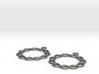 Celtic Weave Earrings - WE026 3d printed
