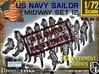1-72 US Navy MIDWAY Set 12 3d printed