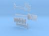 MPA 01 Tieflader ähnlich Goldhofer 2 achs 1-Tele  3d printed