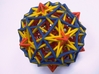 3 edges subsets of the pentagonal hexecontahedron 3d printed It came to life !