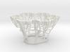 Koch Snowflake Fractal 3d printed