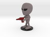 Little Alien with a Raygun 3d printed