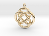 Knot pendant 3d printed