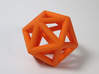 Icosahedron Ornament  3d printed An Actual Photograph - Not Digital