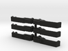 TR10001 D110 Door Handles Set Of 6 3d printed