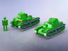 French Renault AMR 33 Light Tank 1/285 3d printed