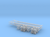 N 53' Container Chassis 4.Pack 3d printed