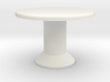 Table, Tessera Tall (Space: 1999), 1/30 3d printed