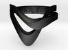 KAZE METAL matte black 3d printed