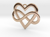 EverHeart necklace 3d printed Ever-Heart necklace - Gold