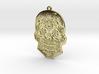 Skull Charm 3d printed