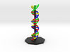 DNA Helix 3d printed DNA Alpha Helix Molecule Model Render.