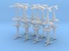 MicroFleet Space Mongol Heavy Battlegroup (16pcs) 3d printed