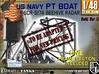 1-48 PT Boat Beehive Radar Frame 3d printed