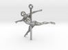 PoleDancer Ballerina charm 3d printed