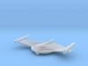 Romulan Bird-of-Prey (TMP) 1/7000 3d printed