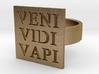 Veni Vidi Vapi Ring 3d printed