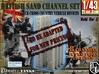 1-43 British Sand Channel Set 3d printed
