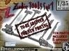 1-35 Zombie Tools Set 001 3d printed