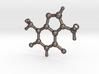 Pendant Theobromine Molecule Model 3d printed