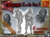 1-24 Military Zombie Set 6 3d printed
