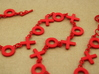 XO Necklace 3d printed