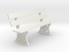 GWR Bench 10mm scale 3d printed