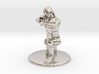 SG Female Soldier Crouched 35 mm new 3d printed