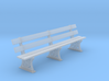 GWR Bench 4mm scale 10ft 3d printed