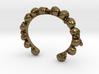 Human Skull Bracelet  3d printed