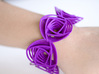 Rose Stripes Bracelet 3d printed Add a caption...