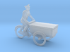 Bread tricycle (TT 1:120) 3d printed