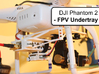 DJI Phantom 2 - Custom FPV Undertray 3d printed