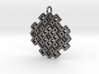 Point Twill Pendant 3d printed