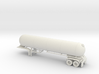 HO 1/87 LPG twin-axle tanker, trailer 15 3d printed