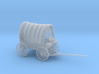 S Scale Covered Wagon 3d printed This is a render not a picture
