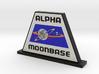 Moonbase Alpha Display (Space: 1999) = DESKAPADES  3d printed