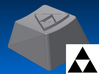 Legend of Zelda - Triforce Keycap (R1, 1x1) 3d printed