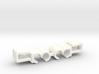 Lancia Delta Beta water pipe Clip SET 3d printed