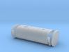 1/25 oblong fuel tank w/brackets 3d printed