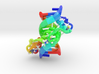 Zinc Finger bound to DNA 3d printed