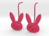 D.Va bunny earring studs 3d printed