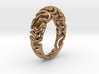 Reaction Diffusion Ring 5 (size 60) 3d printed