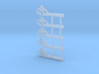"""HO Scale GRS Style A Square Semaphore 42"""" 3d printed"""