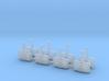 Omni Scale Klingon G1 Gunboat Flotilla WEM 3d printed