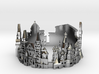Moscow Skyline - Cityscape Ring 3d printed