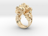 Greedy Money Toad Ring: JinChan 3d printed